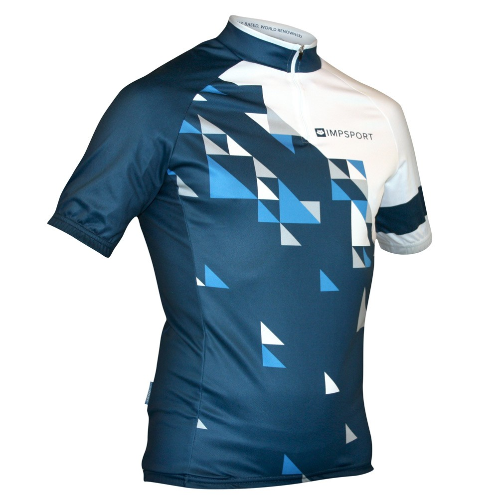 Impsport Echelon Blue Cycle Jersey