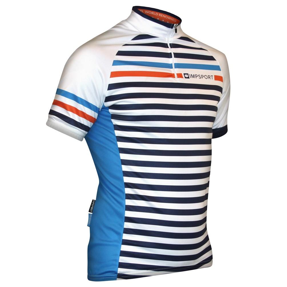 Impsport Rouleur Orange Cycling Jersey Front