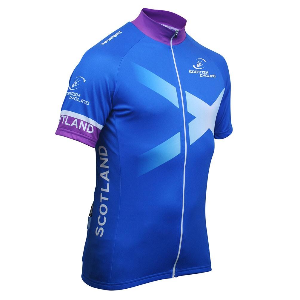 Scottish Cycling Replica Jersey - Full Zip