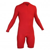 Impsport Mens Long Sleeve Skinsuit Red