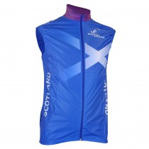 Scottish Cycling Replica Windproof Gilet