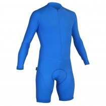 Impsport Mens Long Sleeve Skinsuit Turquoise