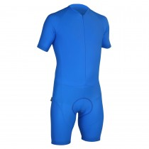 Impsport Mens Short Sleeve Skinsuit Turquoise