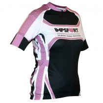 Impsport Patriot Pro Road Jersey Cerise