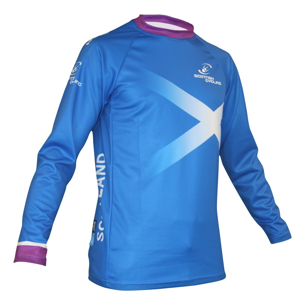 Scottish Cycling Replica Downhill Jersey