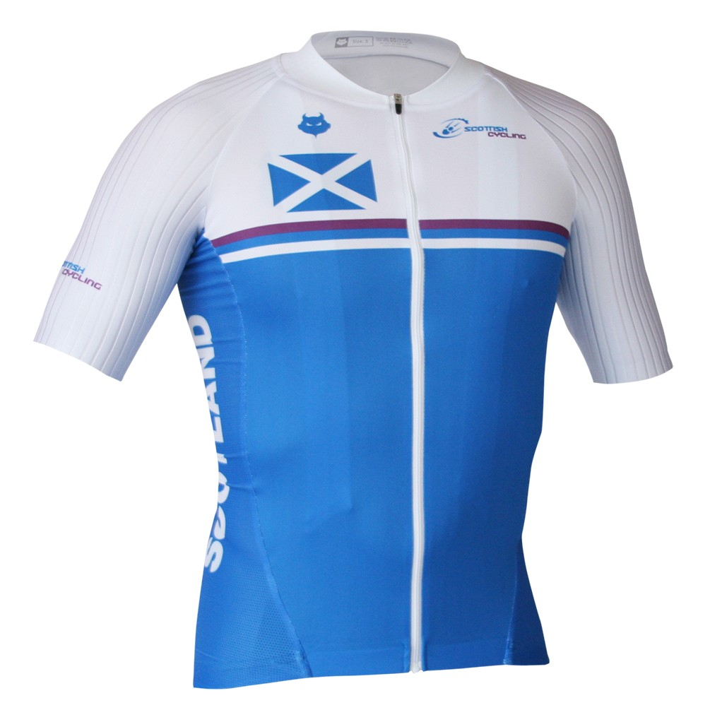 Scottish Cycling Replica Race Fit Jersey