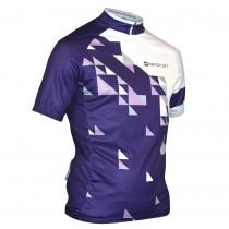 Impsport Echelon Purple Cycle Jersey Front