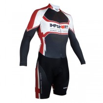 Impsport 'Patriot' Men's Long Sleeve Skinsuit