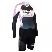 Impsport 'Patriot' Ladies Long Sleeve Skinsuit