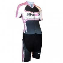Impsport 'Patriot' Ladies Short Sleeve Skinsuit