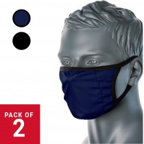3 Layer Comfort Fabric Washable Reusable Face Mask