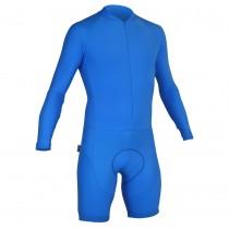 Impsport Mens Long Sleeve Skinsuit Turquoise