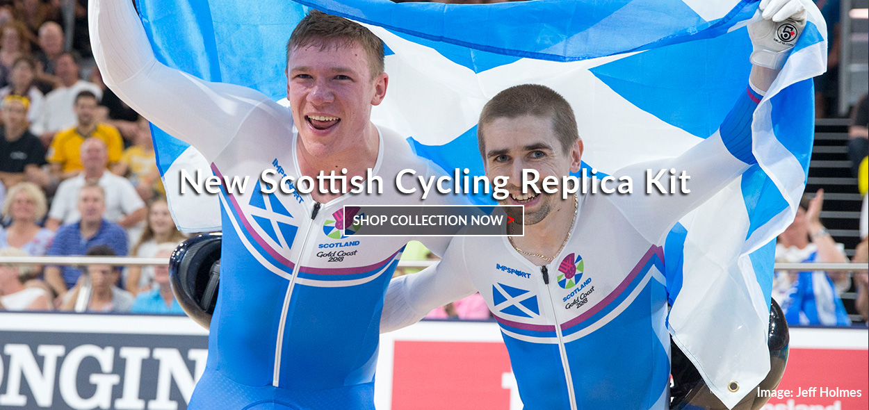 New Impsport Official Scottish Cycling Replica Kit